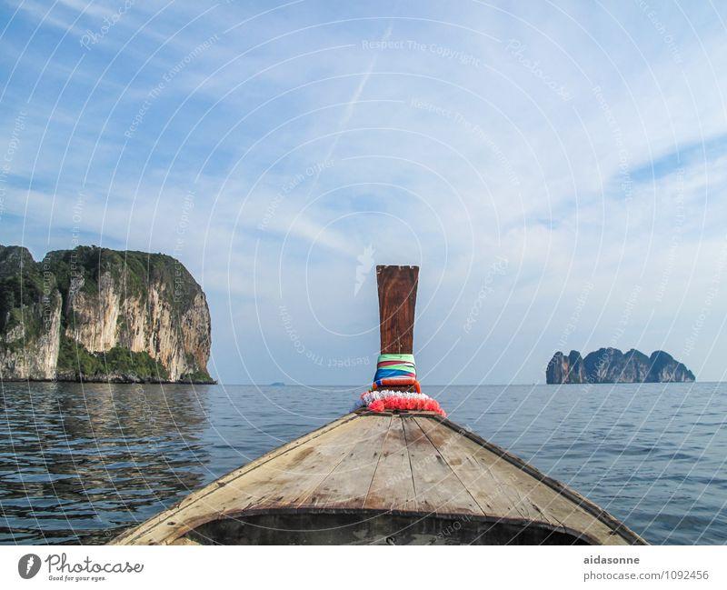 Nature Water Ocean Landscape Contentment Idyll Joie de vivre (Vitality) Attentive Andaman Sea