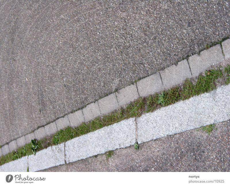 Street Stone Sidewalk Border Curbside