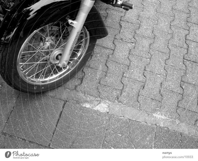 Wroooom___ Motorcycle Black Spokes