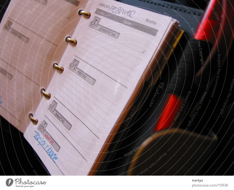 Work and employment Business Things Calendar Date Piece of paper