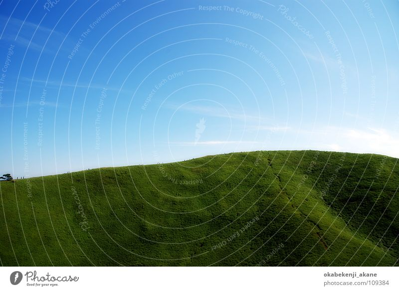 perfection Sky Light Mountain sunny grass blue atmosphere Air