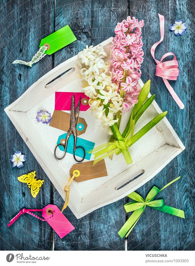 Spring Flowers Decoration Handicrafts Lifestyle Style Design Garden Interior design Table Feasts & Celebrations Nature Plant Piece of paper Packaging Box