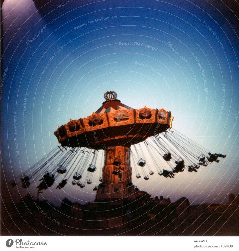 Joy Relaxation Dream Music Lomography Fairs & Carnivals Analog Markets Exhibition Carousel Medium format Blues Vertigo Holga Theme-park rides Showman
