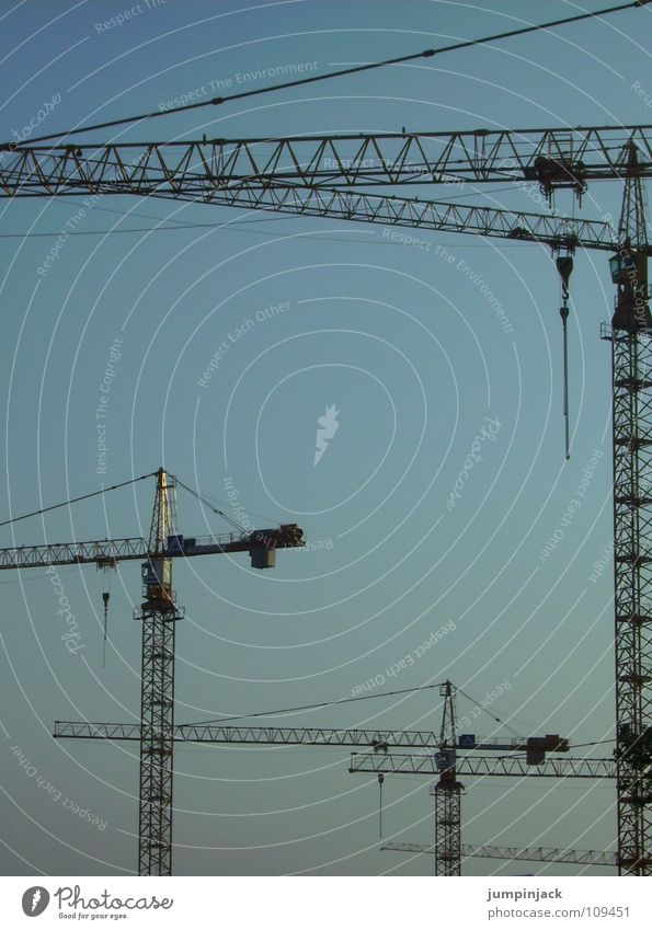 Sky Power Might Industry Construction site Technology Interlaced Electrical equipment