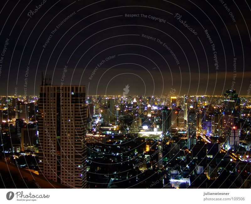 One Night in Bangkok Town High-rise Asia Skyline The Dome Sirocco Bar state tower