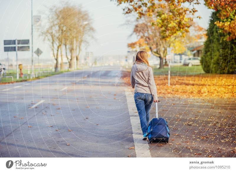 At the airport Lifestyle Leisure and hobbies Vacation & Travel Tourism Trip Adventure Far-off places Freedom City trip Expedition Camping Sun Hiking Feminine 1