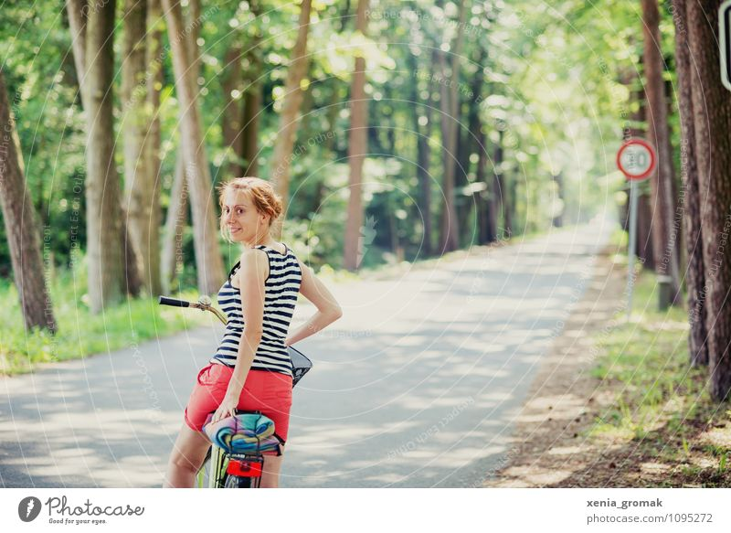 Human being Vacation & Travel Summer Sun Relaxation Far-off places Life Feminine Sports Healthy Freedom Lifestyle Leisure and hobbies Tourism Bicycle Trip