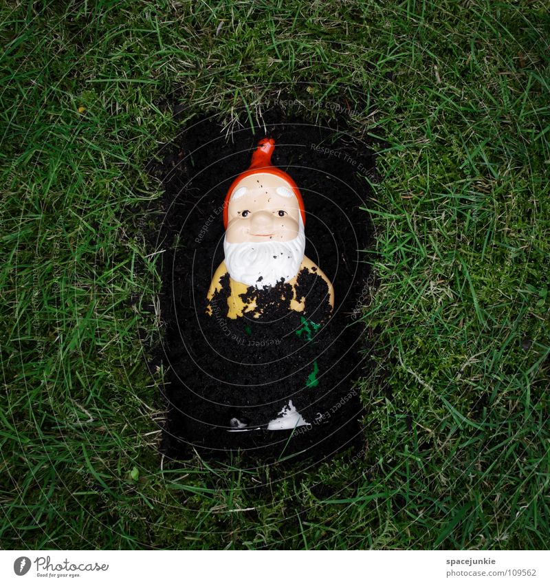Joy Death Garden Village Whimsical Murder Shovel Sacrifice Dwarf Petit bourgeois Garden gnome Dig Bury