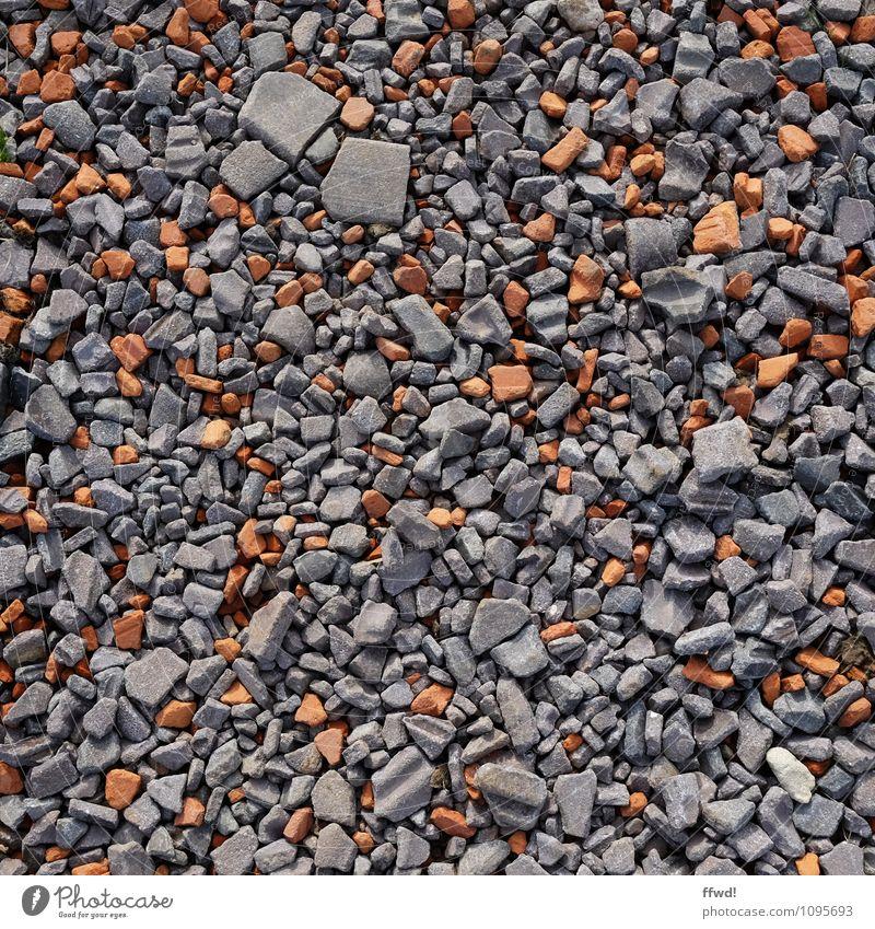 Lead me to the gravel Environment Earth Lanes & trails Stone Broken Gray Orange Decline Transience Change Building rubble Trash heap Colour photo Subdued colour