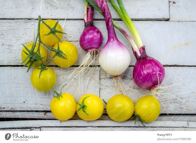 fresh vegetables Food Vegetable Tomato Onion Nutrition Organic produce Vegetarian diet Fresh Healthy Yellow To enjoy Colour photo Day