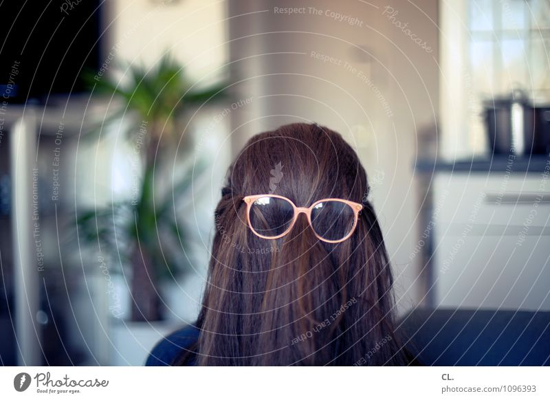 Human being Woman Joy Adults Life Interior design Feminine Funny Hair and hairstyles Exceptional Flat (apartment) Masculine Room Living or residing Eyeglasses Uniqueness