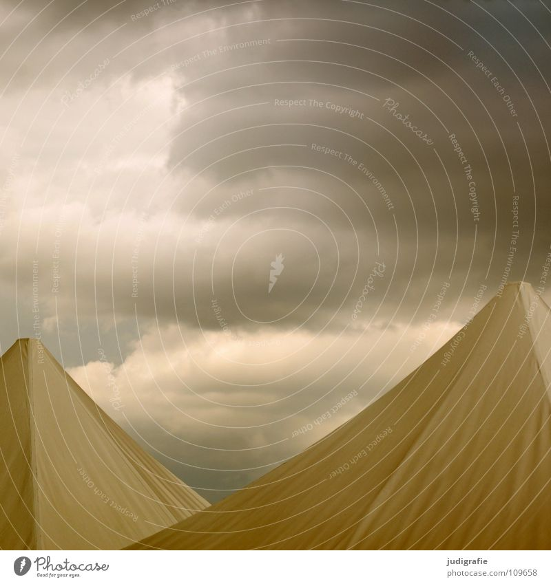 Sky Clouds Colour Dark Rain Weather Roof Threat Protection Point Thunder and lightning Storm Tent Pyramid Beer tent