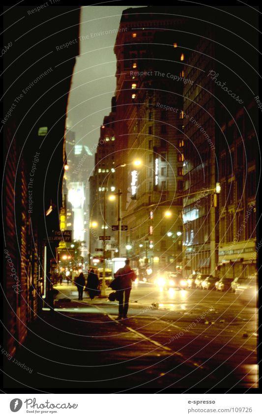 Streets of SoHo, Manhattan, New York, N.Y. New York City Soho Night life Canyon Light Moody Peace nitelife Evening