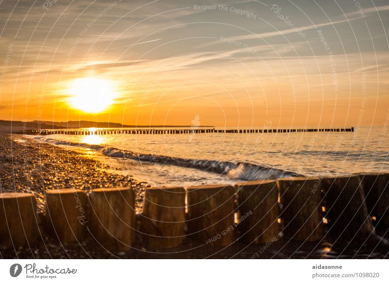 Sky Water Landscape Calm Happy Joie de vivre (Vitality) Beautiful weather Romance Baltic Sea Serene Attentive