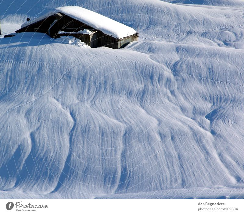 White Blue Winter Cold Snow Mountain Ice Brown Roof Switzerland Clarity Tracks Alps Stripe Beautiful weather February