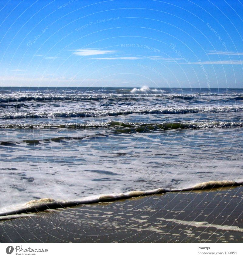 Water Ocean Summer Beach Far-off places Cold Relaxation Sand Coast Waves Wet Horizon Dive Australia Surf Foam