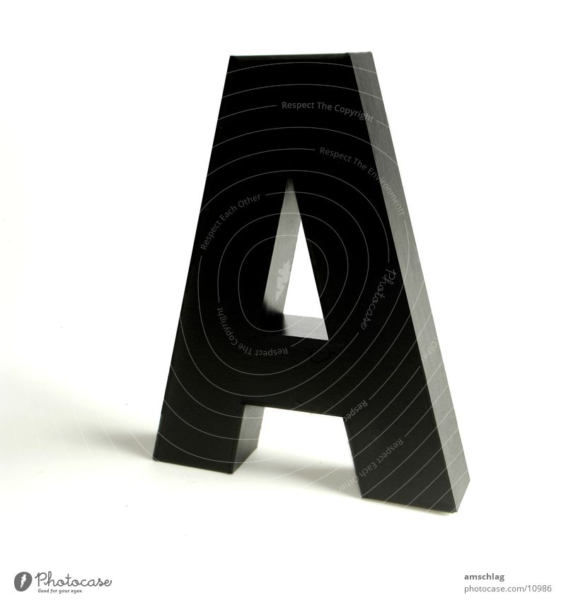 Black Glittering Letters (alphabet) Things Cardboard Varnish Handicraft Capital letter
