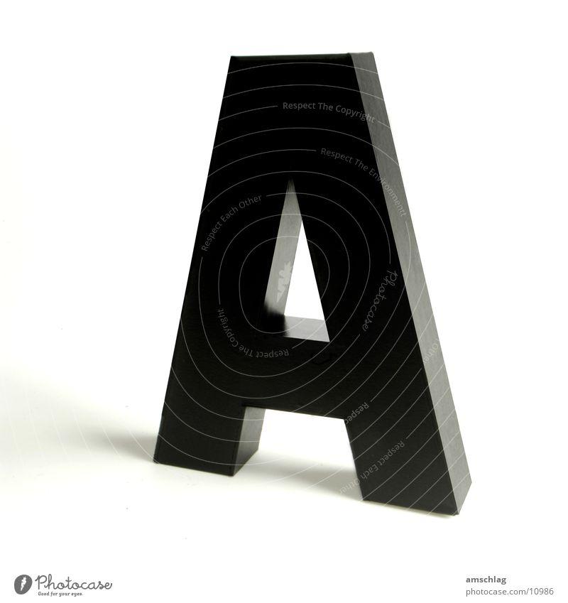 Black Glittering Letters (alphabet) Things Cardboard Varnish Handicraft Capital letter