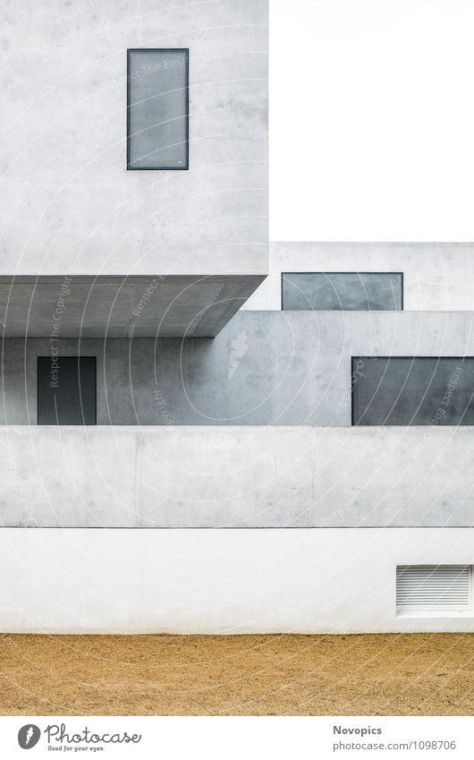 Bauhaus master house II House (Residential Structure) Building Architecture Facade Tourist Attraction Landmark Monument Sand Bauhaus style avant-garde Classic