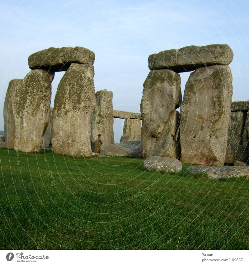 Stone Stars Monument Historic Landmark England Magic Puzzle Twin Starry sky Great Britain Mystery Astronomy Astrology Stonehenge Stone Age