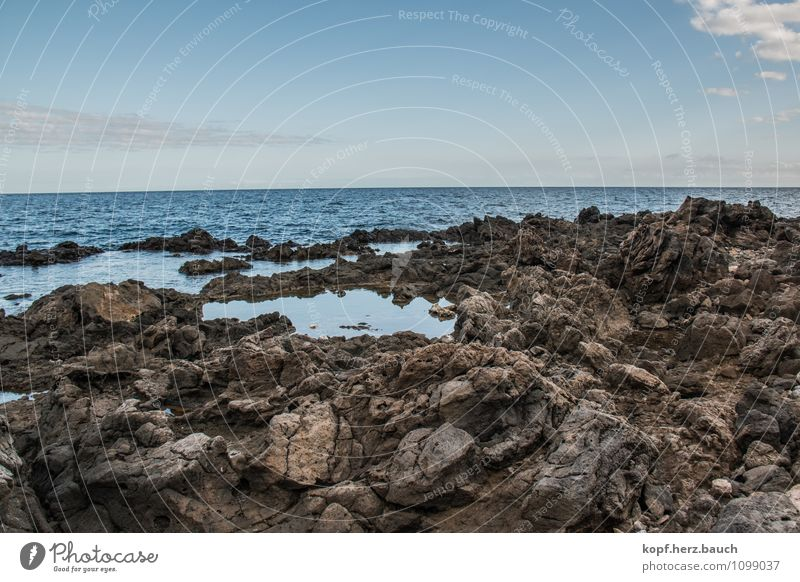 Nature Ocean Calm Emotions Natural Coast Time Stone Moody Contentment Power Idyll Break Hope Grief Belief