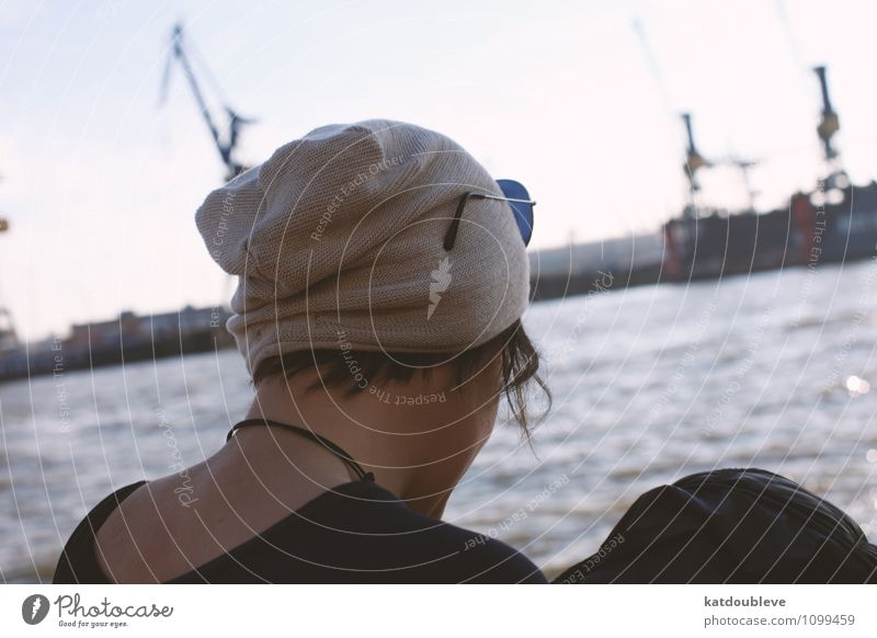 I Love My Harbor Androgynous Homosexual Water Port City Harbour Observe Think Relaxation To enjoy Looking Sit Stand Wait Cool (slang) Far-off places Free