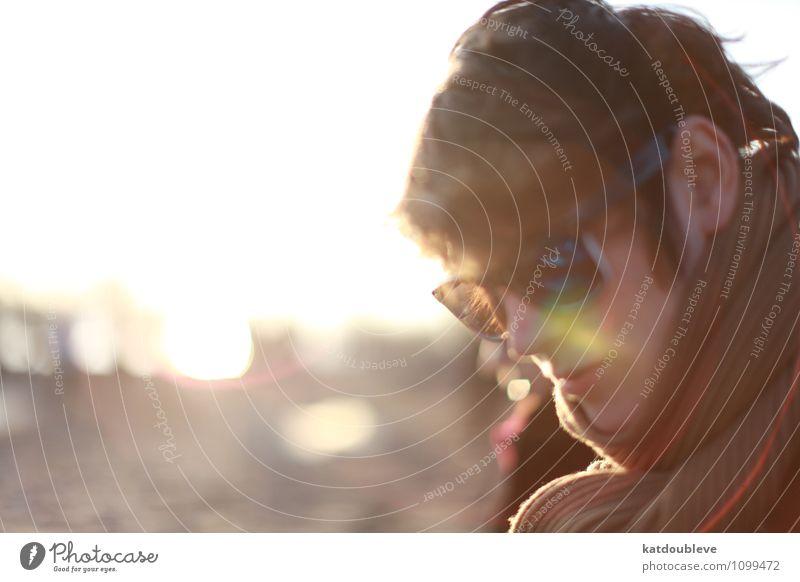 someone else, someone good Human being Feminine Androgynous Homosexual Sun Sunrise Sunset Spring Summer Beautiful weather Think Relaxation Hang Illuminate Dream