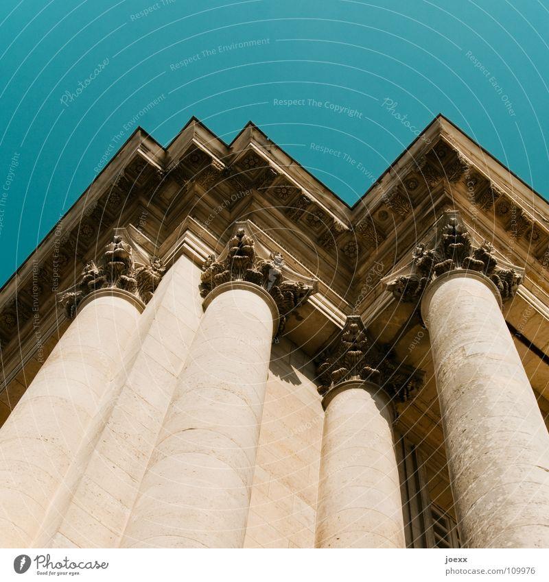 Sky Building Architecture Force Facade Might Roof Historic Upward Column Ancient Ornament Prop Baroque Classic