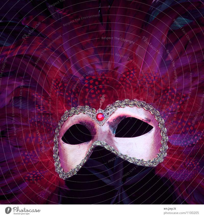 Empty Vacation & Travel Tourism Carnival Event Venice Accessory Mask Elegant Eroticism Fantastic Beautiful Crazy Red Joy Happiness Joie de vivre (Vitality)