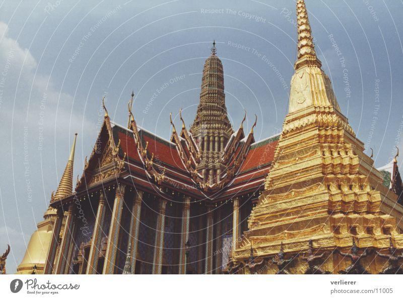 wat phra kaew Temple Thailand Bangkok Pagoda Architecture