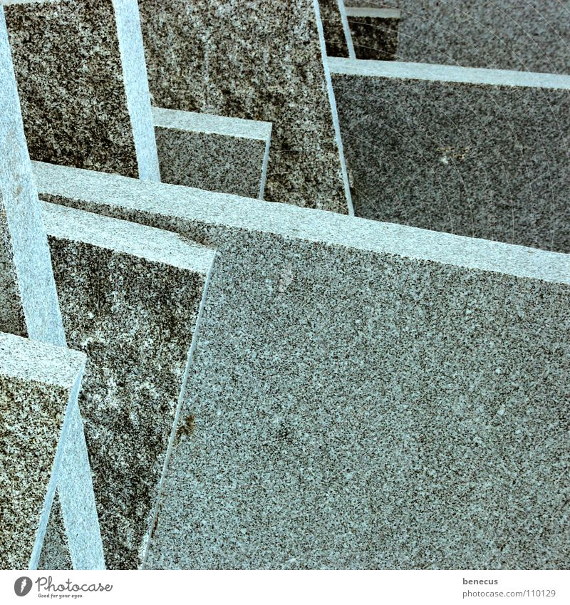 Gray Stone Line Arrangement Modern Corner Level Clarity Tile Turquoise Downward Fine Prefab construction Flat Sharp-edged Minerals