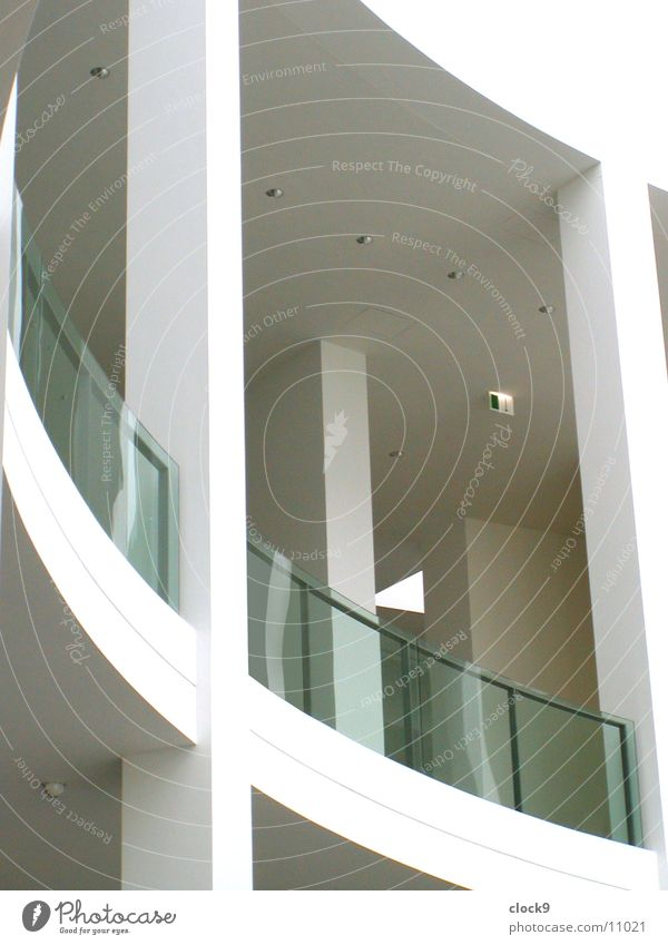 White Room Architecture Glass Modern Munich Balcony Picture gallery