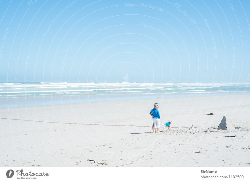 367 [Ziggurat] Children's game Vacation & Travel Tourism Trip Far-off places Freedom Summer Summer vacation Sun Beach Ocean Girl Parents Adults