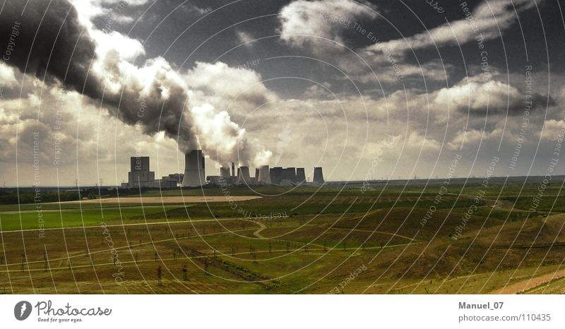 Nature Environment Far-off places Landscape Dark Fear Climate Dirty Energy industry Dangerous Electricity Industry Threat Technology Creepy Economy