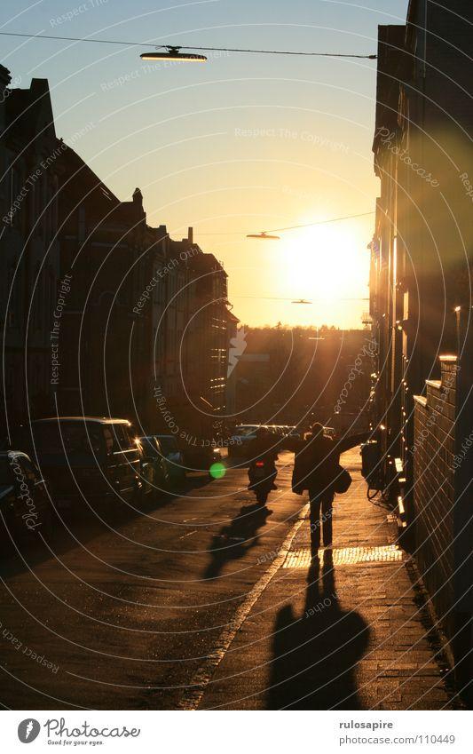 Human being Sun Joy Street Emotions Arm Success Back To enjoy