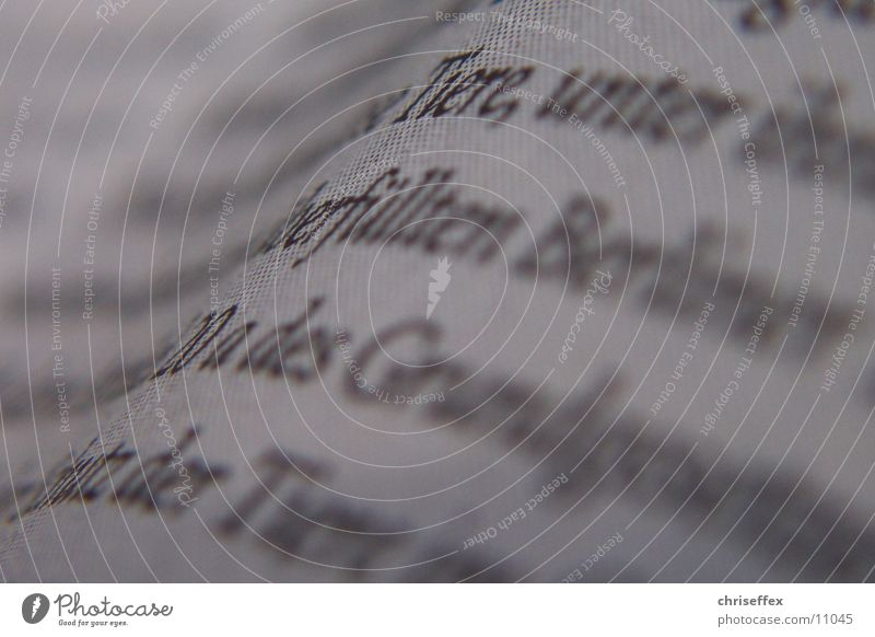 White Characters Letters (alphabet) Things Newspaper Typography Line (row of words) Zigzag