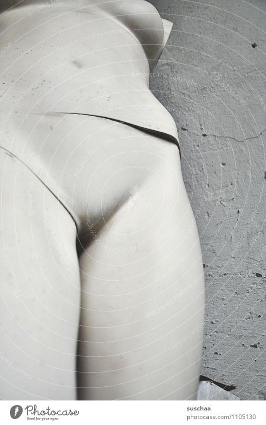 Naked Body Stomach False Mannequin Torso False position
