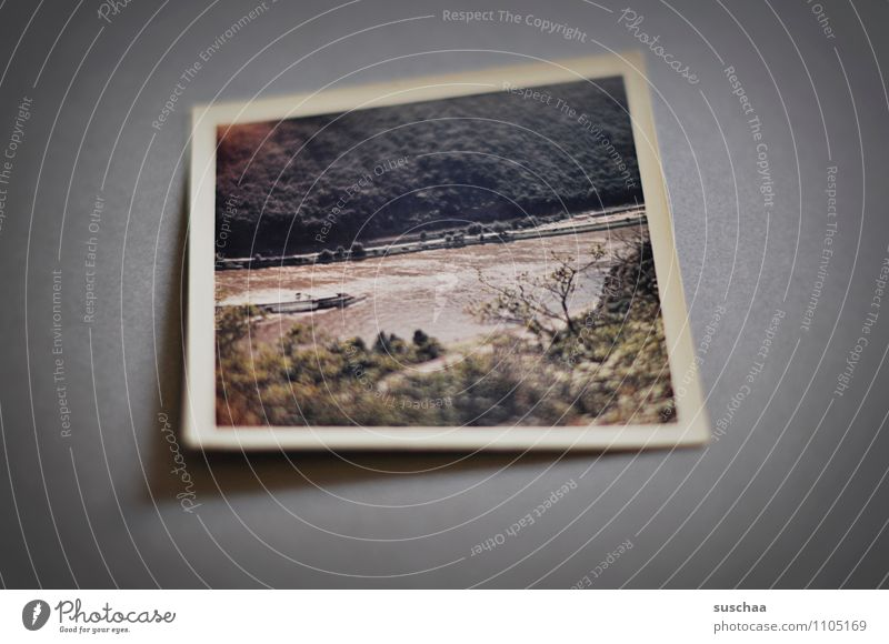old color photo Analog analogue photography Photography Colour photo Landscape Neutral Background Memory family album