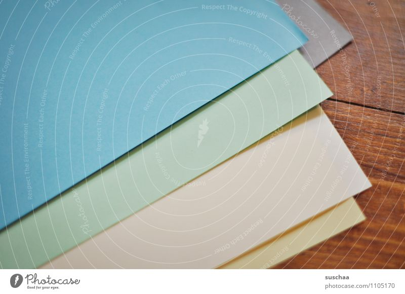 paper Paper coloured paper Craft materials pages Multicoloured straight lines Wooden floor Empty