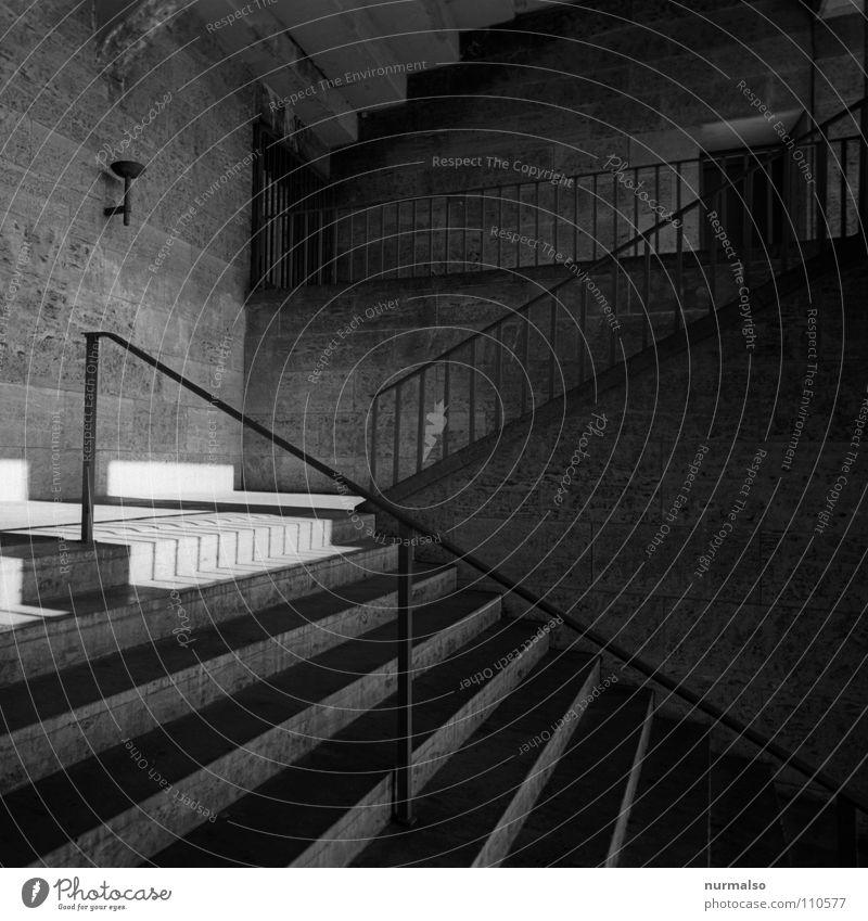 Playing Berlin Line Stairs Large Concrete Modern Safety Handrail Manmade structures Historic Concert Force Monument Steel Stadium
