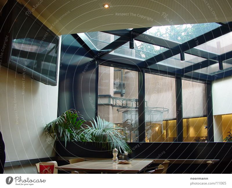Architecture Glass Modern Dining hall