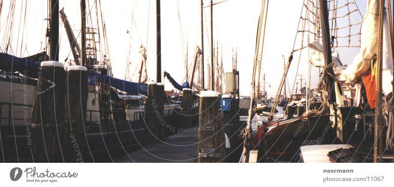 harbor Sailboat Netherlands Bollard Harbour