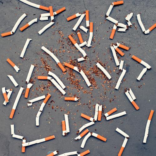 waste money Healthy Health care Intoxicant Cigarette Smoking Dirty Vice Drug addiction Unhealthy Colour photo Exterior shot Deserted Day