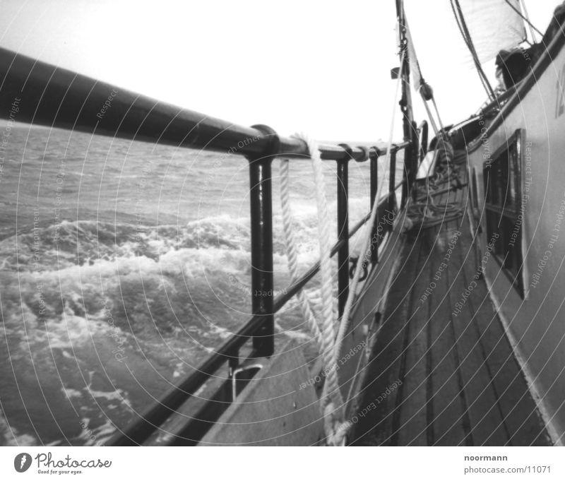 Water Ocean Lake Watercraft Waves Gale North Sea Sailing ship