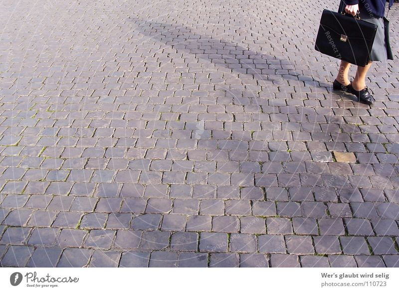 Woman Human being Old Black Loneliness Yellow Autumn Freedom Gray Stone Footwear Legs Wait Small Gold Empty