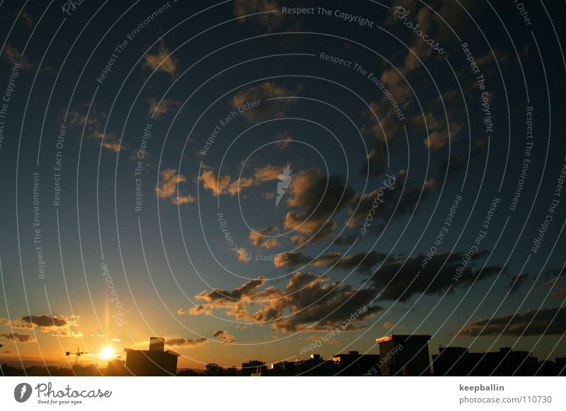 Sky Summer Clouds Warmth Roof Freiburg im Breisgau