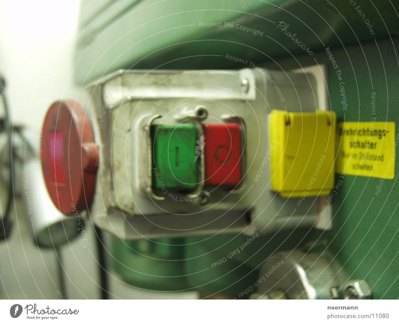 Green Red Technology Switch Drill Electrical equipment Cee