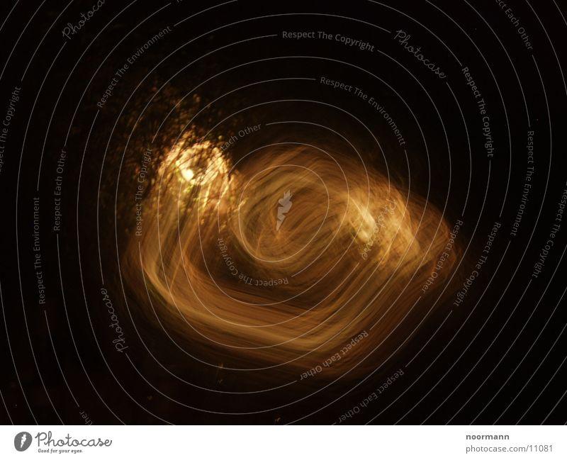 Moving light Light Spiral Long exposure
