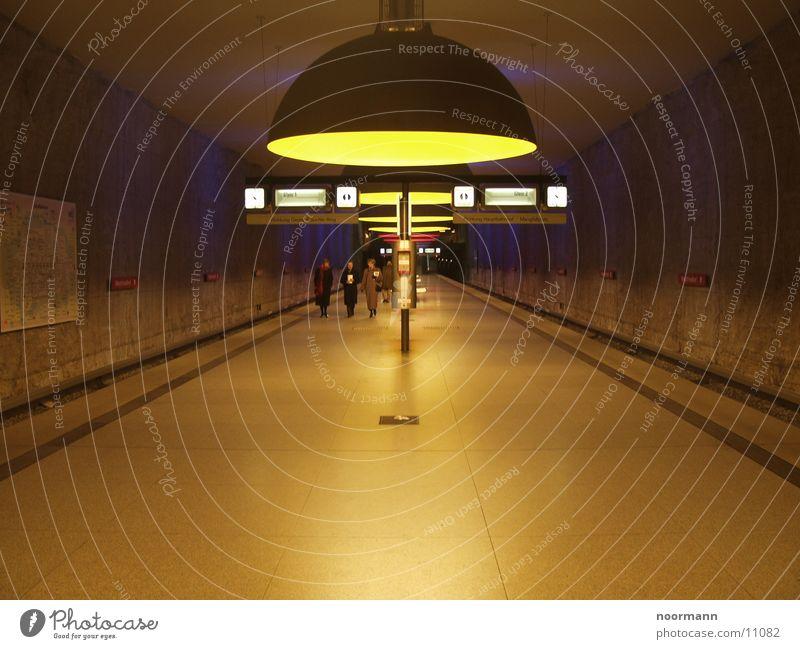 Blue Red Transport Round Station Underground Semicircle