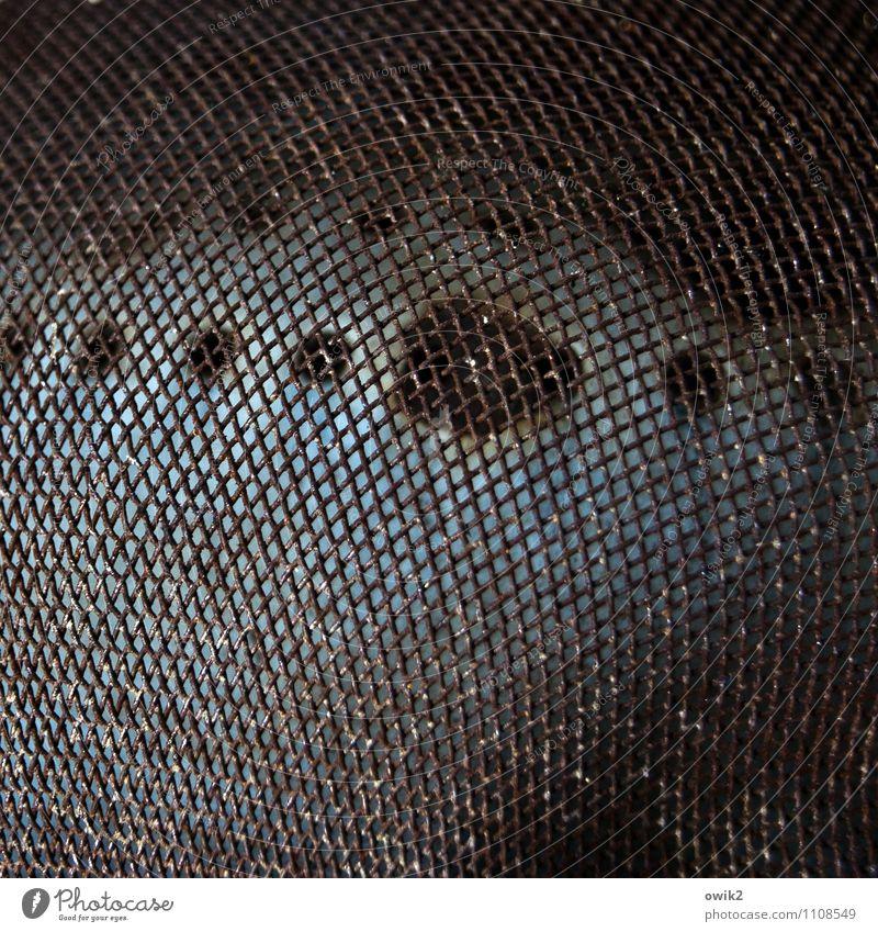 Old Dark Background picture Metal Simple Grating Pot Sieve
